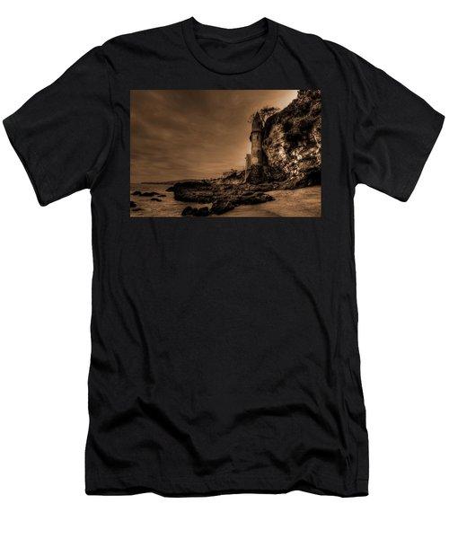 Dark La Tour Men's T-Shirt (Athletic Fit)