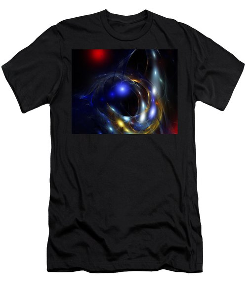 Dark Matter Revealed Men's T-Shirt (Athletic Fit)