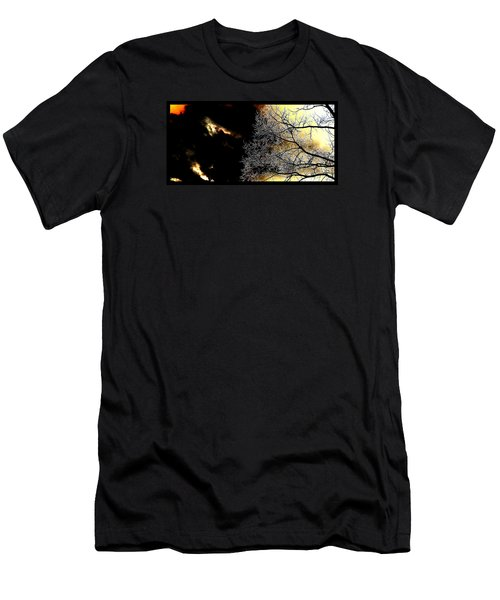 Dark Meets Light Men's T-Shirt (Slim Fit) by Susanne Still