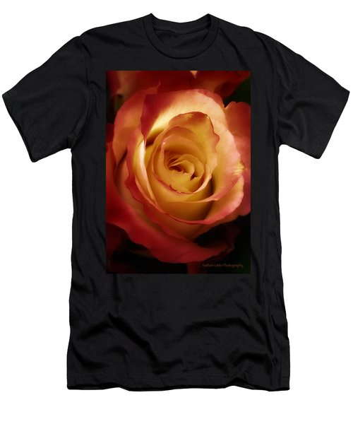 Dark Rose Men's T-Shirt (Athletic Fit)