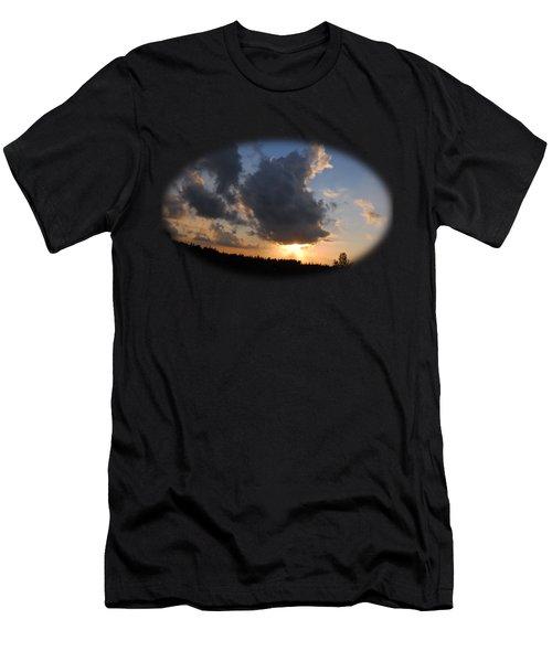 Dark Sunset T-shirt Men's T-Shirt (Athletic Fit)