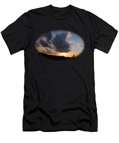 Dark Sunset T-shirt Men's T-Shirt (Athletic Fit)