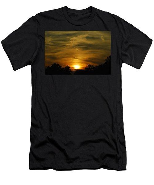 Dark Sunset Men's T-Shirt (Athletic Fit)