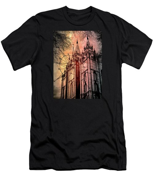 Dark Temple Men's T-Shirt (Athletic Fit)
