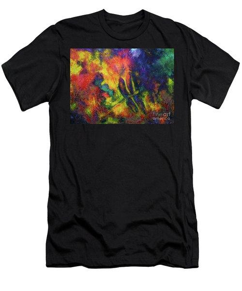 Darling Darker Dragonfly Men's T-Shirt (Athletic Fit)