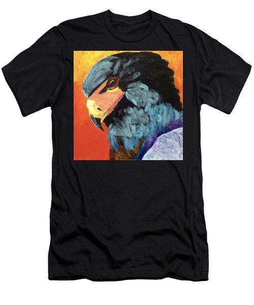 Darth Vader Hawk Men's T-Shirt (Slim Fit) by Donald J Ryker III