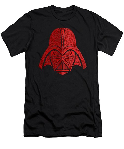 Darth Vader - Star Wars Art - Red 02 Men's T-Shirt (Athletic Fit)