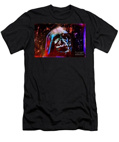 Darth Vader's Melted Helmet Men's T-Shirt (Athletic Fit)