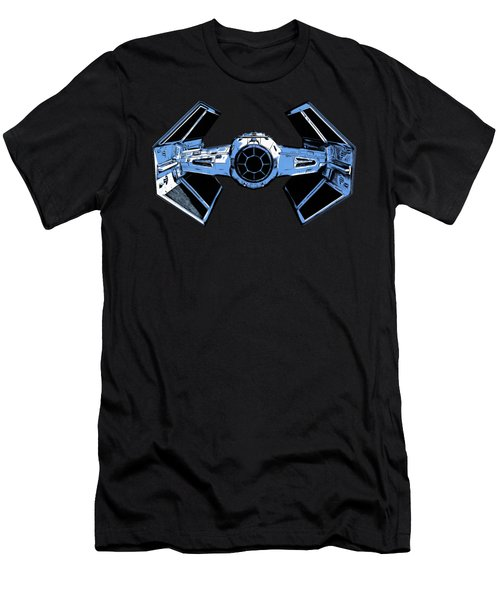 Darth Vaders Tie Figher Advanced X1 Tee Men's T-Shirt (Slim Fit) by Edward Fielding