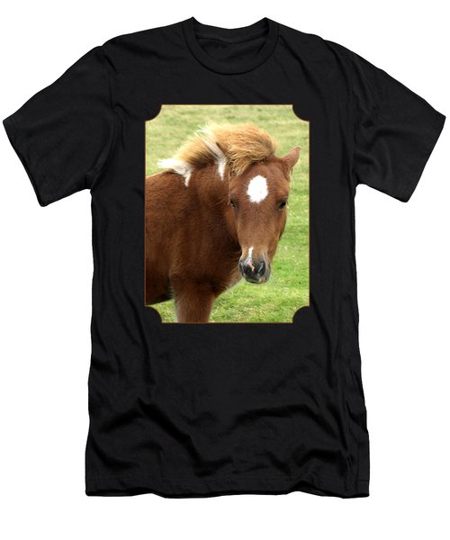 Dartmoor Pony Men's T-Shirt (Athletic Fit)