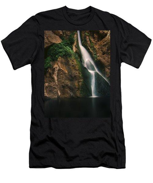 Darwin Falls - Death Valley Men's T-Shirt (Athletic Fit)