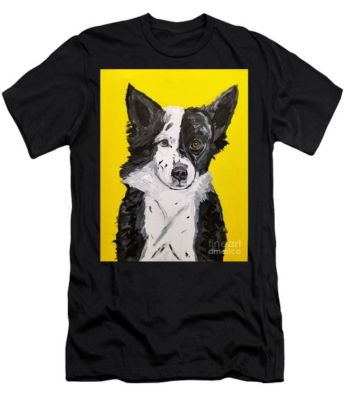 Dasha Date With Paint Nov 20th Men's T-Shirt (Athletic Fit)