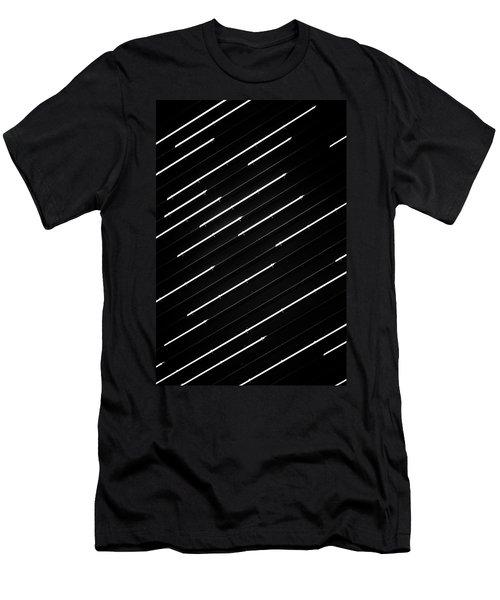 Dashed No. 1-1 Men's T-Shirt (Athletic Fit)