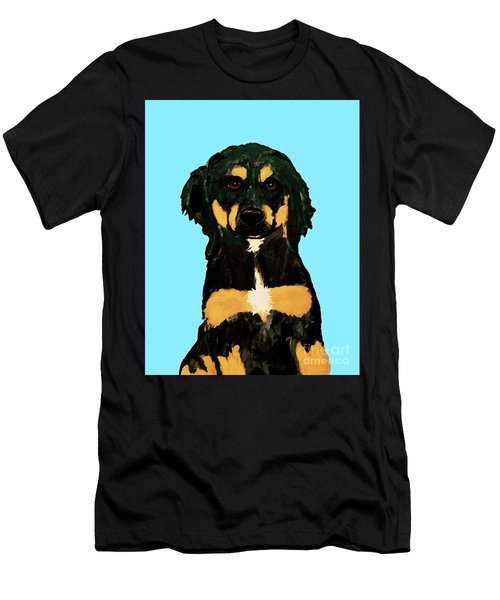 Date With Paint Sept 18 9 Men's T-Shirt (Slim Fit) by Ania M Milo