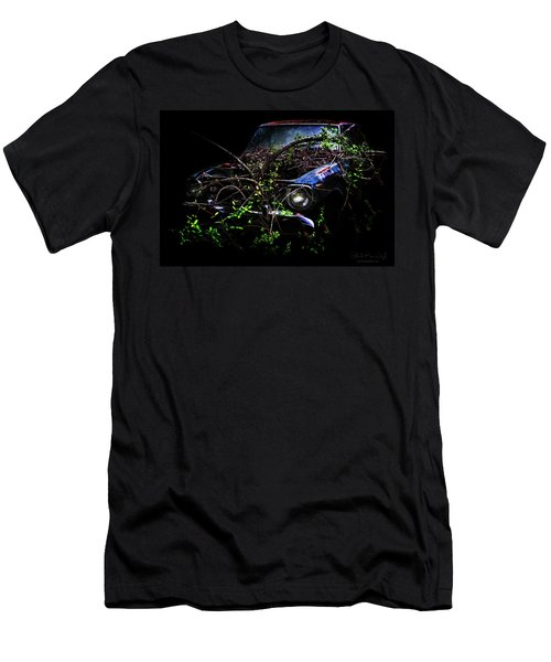 Men's T-Shirt (Athletic Fit) featuring the photograph Datsun Treehouse by Glenda Wright