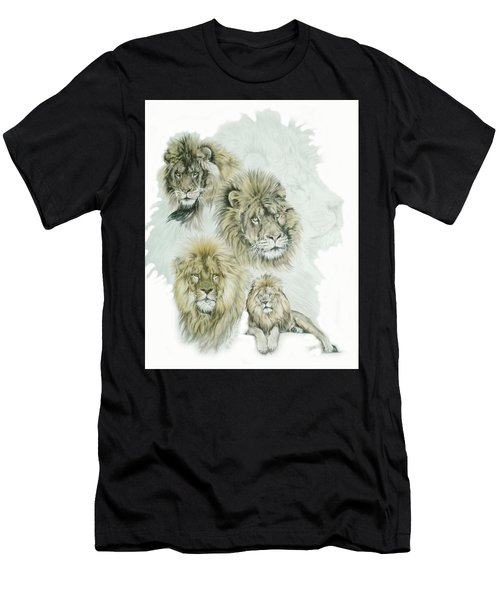 Men's T-Shirt (Athletic Fit) featuring the mixed media Dauntless by Barbara Keith