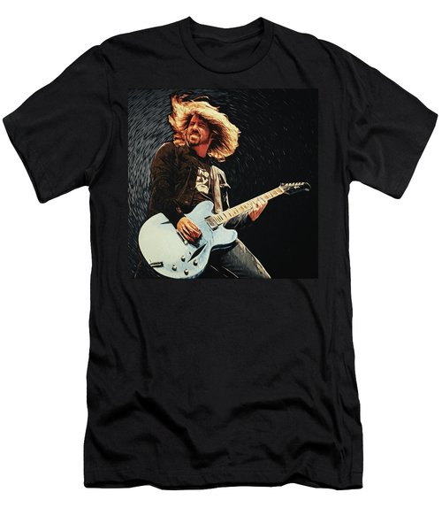 Dave Grohl Men's T-Shirt (Athletic Fit)