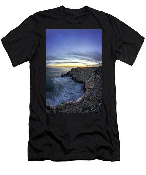 Davenport Bluffs At Sunset Men's T-Shirt (Athletic Fit)