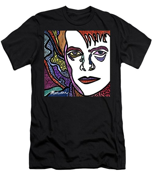 David Bowie Legacy Men's T-Shirt (Athletic Fit)