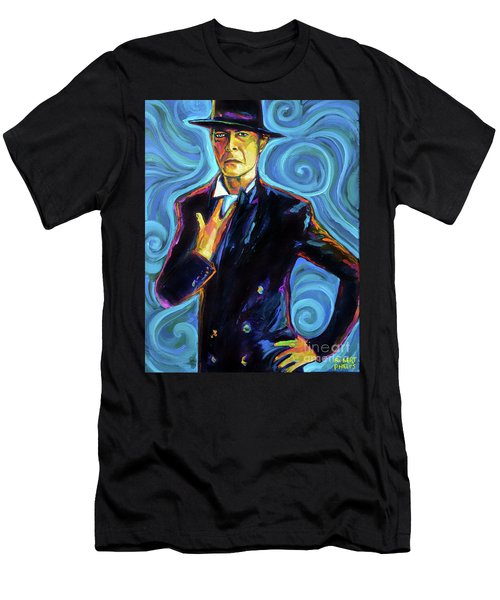 David Bowie Men's T-Shirt (Slim Fit) by Robert Phelps