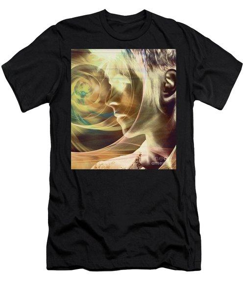 David Bowie / Transcendent Men's T-Shirt (Athletic Fit)