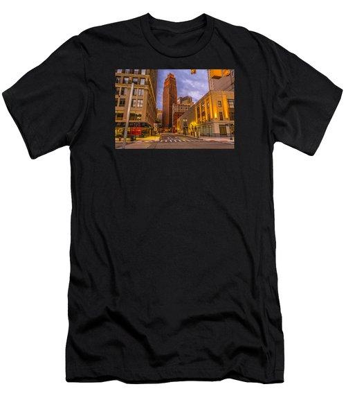 David Stott Building  Men's T-Shirt (Athletic Fit)
