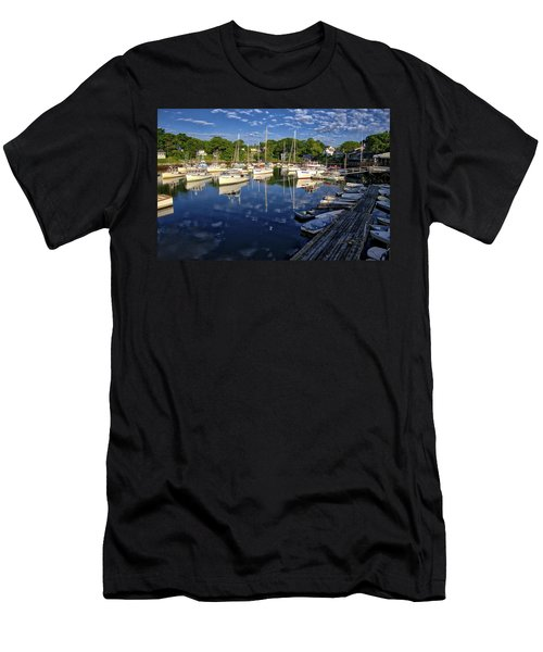 Dawn At Perkins Cove - Maine Men's T-Shirt (Athletic Fit)