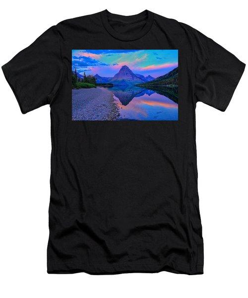 Dawn At Two Medicine Lake Men's T-Shirt (Athletic Fit)