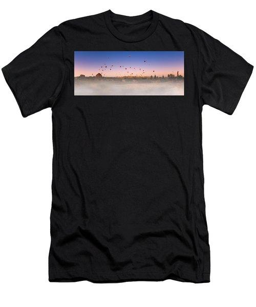 Dawn, Cappadocia Men's T-Shirt (Athletic Fit)