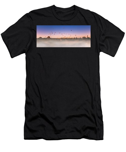 Dawn, Cappadocia Men's T-Shirt (Athletic Fit)