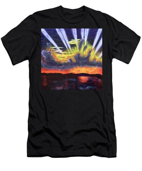 Dawn Men's T-Shirt (Slim Fit) by Donald J Ryker III