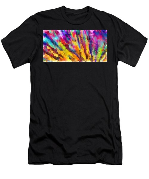 Dawn Of A New Day Abstract Men's T-Shirt (Athletic Fit)