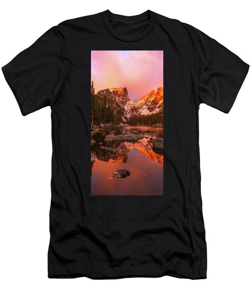 Men's T-Shirt (Athletic Fit) featuring the photograph Dawn Of Dreams Triptych Middle by Dustin LeFevre