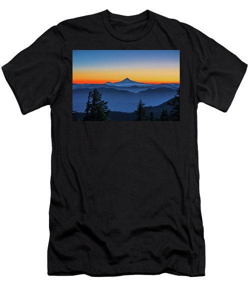 Dawn On The Mountain Men's T-Shirt (Athletic Fit)