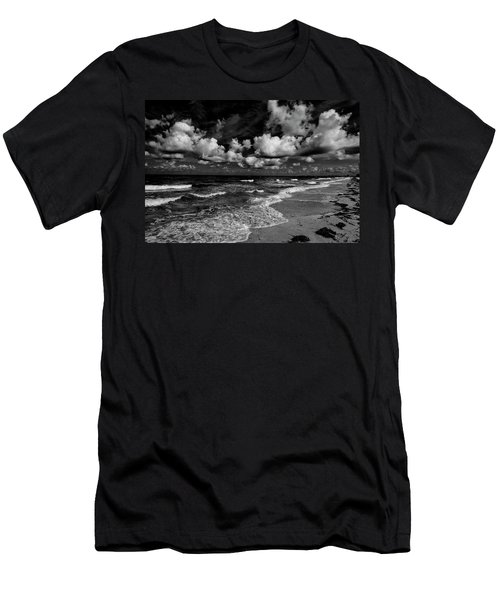 Day At The Beach Men's T-Shirt (Slim Fit) by Kevin Cable