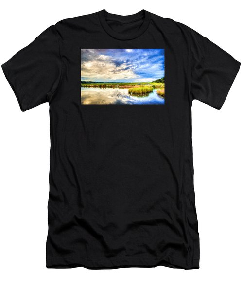 Day At The Marsh Men's T-Shirt (Athletic Fit)