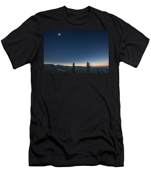 Day Becomes Night Men's T-Shirt (Athletic Fit)
