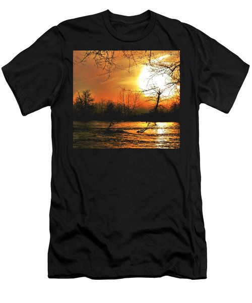 Men's T-Shirt (Athletic Fit) featuring the photograph Day Break by EDi by Darlene