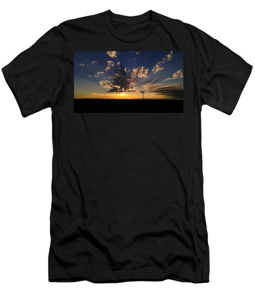 Day Is Done Men's T-Shirt (Athletic Fit)