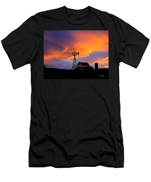 Men's T-Shirt (Athletic Fit) featuring the photograph Day Is Done by Deleas Kilgore