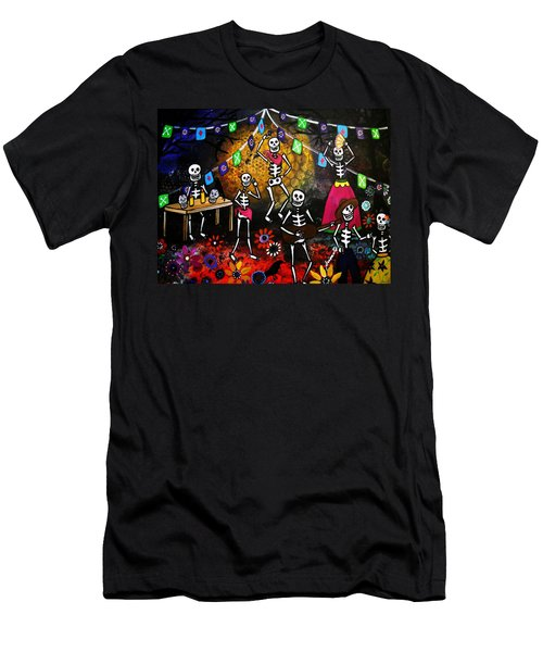 Day Of The Dead Festival Men's T-Shirt (Athletic Fit)