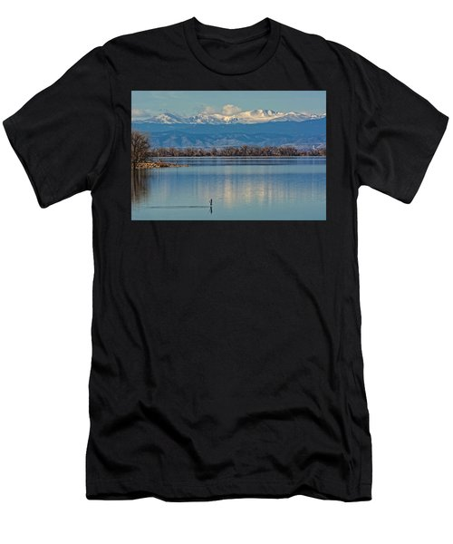 Day On The Lake Men's T-Shirt (Athletic Fit)
