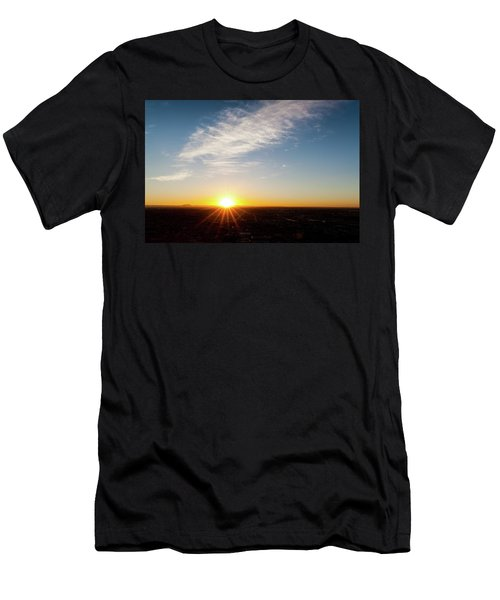 Men's T-Shirt (Athletic Fit) featuring the photograph Daybreak 2011 by SR Green