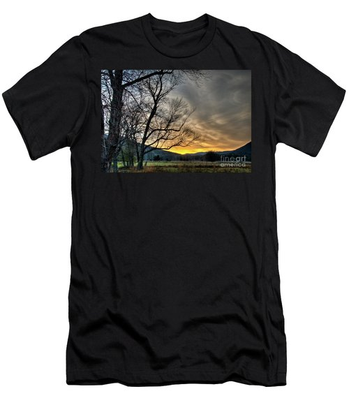 Men's T-Shirt (Slim Fit) featuring the photograph Daybreak In The Cove by Douglas Stucky