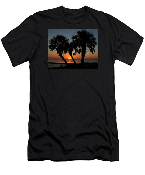Men's T-Shirt (Slim Fit) featuring the photograph Daybreak by Judy Vincent