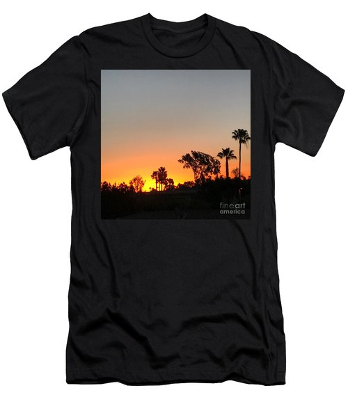 Men's T-Shirt (Slim Fit) featuring the photograph Daybreak by Kim Nelson