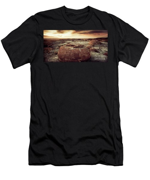 Daylight Leaving Redrock Men's T-Shirt (Athletic Fit)