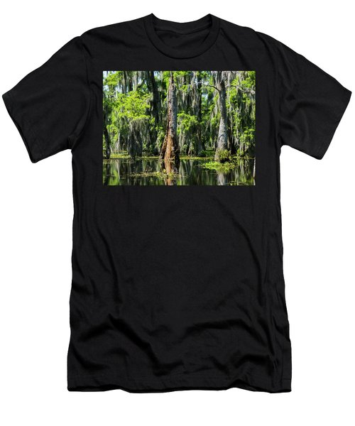 Daylight Swampmares Men's T-Shirt (Slim Fit) by Kimo Fernandez