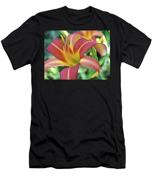 Daylilies At Daybreak Men's T-Shirt (Athletic Fit)