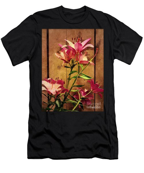 Dayliliys In  Guilford , Conn Men's T-Shirt (Athletic Fit)